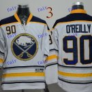 Buffalo Sabres #90 Ryan O'Reilly Throwback Vintage Jersey White ICE Hockey Jerseys Heritage Stitched