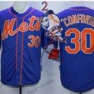 New York Mets 30 Michael Conforto blue 2015 Baseball Jerseys Authentic