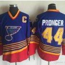 st. louis blues #44 chris pronger 2016 Hockey Jerseys Ice Winter Jersey All Stitched