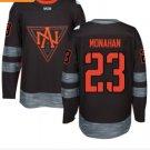 2016 World Cup North America Ice Hockey Black Jerseys 23 Sean Monahan