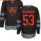 2016 World Cup North America Ice Hockey Black Jerseys #53 Shayne Gostisbehere
