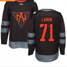2016 World Cup North America Ice Hockey Black Jerseys 71 Dylan Larkin