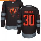 2016 World Cup North America Ice Hockey Black Jerseys 30 Matt Murray