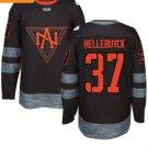 2016 World Cup North America Ice Hockey Black Jerseys 37 HELLEBUYCK