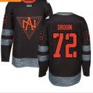 2016 World Cup North America Ice Hockey Black Jerseys 72 Jonathan Drouin