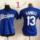 Los Angeles Dodgers Women Jersey 31 Joc Pederson Women Baseball Jersey Blue