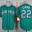 Seattle Mariners Jersey Robinson Cano #22 Green Baseball Jersey Best Jersey Sox