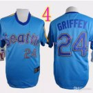 Seattle Mariners Jersey  #24 Ken Griffey  Jersey Best Jersey Sox