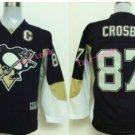 Youth Pittsburgh Penguins Hockey Jerseys Home Black Alternate Kids 87 Sidney Crosby Jersey