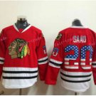 Chicago Blackhawks Jerseys Brandon SAAD #20 Mens Red USA Flag Stitched Hockey Jersey