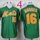 Baseball Jerseys New York Mets Jerseys 16# Dwight Gooden Jersey Green