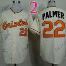 Jim Palmer Jersey Vintage Baltimore Orioles Throwback Jerseys Cream Style 2