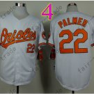 Jim Palmer Jersey Vintage Baltimore Orioles Throwback Jerseys White Style 2