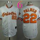 Jim Palmer Jersey Vintage Baltimore Orioles Throwback Jerseys White Style 1