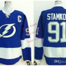 #91 steven stamkos 2015 Ice Winter Jersey Blue Hockey Jerseys Authentic Stitched