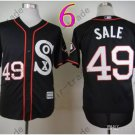 Chris Sale Jersey Chicago White Sox 49 Black Cool Base
