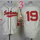 Bob Feller Jersey 1948 Year Hall of Fame Indians Jerseys Cream