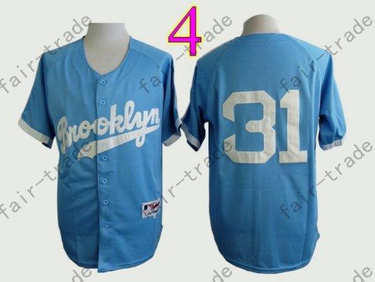 lowest price 20131 ea833 LA Dodgers 31# Joc Pederson Jersey Blue Cool Base