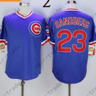 Chicago Cubs #23 ryne sandberg Blue 2015 Baseball Jersey Authentic Stitched