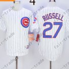 Chicago Cubs #27 Addison Russell WHite 2015 Baseball Jersey Authentic Stitched