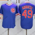 Chicago Cubs 49 Jake Arrieta Blue 2015 Baseball Jersey Authentic Stitched