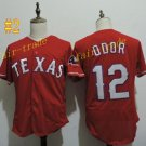 Texas Rangers #12 Rougned Odor 2016 Baseball Jersey Red Jerseys Authentic Stitched
