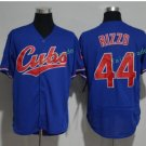 Chicago Cubs 44 Anthony Rizzo Blue Stitched Jersey