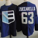 Team Europe 63# Mats Zuccarello Blue 2016 World Cup 2016  Jerseys Ice Winter Jersey All Stitched