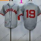 Bob Feller Jersey 1948 Year Hall of Fame Indians Jerseys Gray