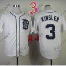 Ian Kinsler Jersey 2014 New Cool Base WHite Detroit Tigers Jerseys