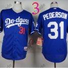 LA Dodgers 31# Joc Pederson Jersey Blue Cool Base