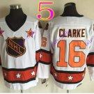 all star #16 Clarke white vintage 2016 Hockey Ice Winter Jersey