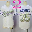 Youth Kansas City Royals  #35 Eric Hosmer 2016 Baseball Jersey Authentic Stitched