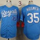 2015 World Series Kansas City Royals 35 Eric Hosmer Baseball Blue Jerseys