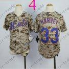 New York Mets Youth Jersey 33 Matt Harvey Camo Kids