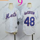 New York Mets Youth Jersey 48 Jacob deGrom White Kids