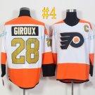 Philadelphia Flyers #28 Claude Giroux 50th Anniversary 2017 Cheap Hockey Jerseys Ice Winter Jersey