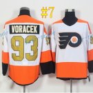 Philadelphia Flyers #93 Jakub Voracek 50th Anniversary 2017 Cheap Hockey Jerseys Ice Winter Jersey
