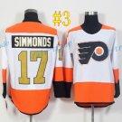 Philadelphia Flyers  #17 Wayne Simmonds 50th Anniversary 2017 Hockey Jerseys Ice Winter Jersey