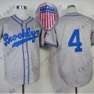 Babe Herman Brooklyn Dodgers 1945 Hemp grey Jersey