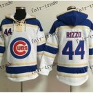 Hoodie Chicago Cubs #44 Anthony Rizzo 2015 Baseball Jerseys Authentic