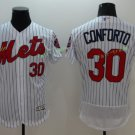 2017 Flexbase Stitched New York mets 30 Michael Conforto white  Jerseys Home Away Road Style 1