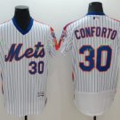 2017 Flexbase Stitched New York mets 30 Michael Conforto white  Jerseys Home Away Road Style 2