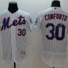 2017 Flexbase Stitched New York mets 30 Michael Conforto white  Jerseys Home Away Road Style 3