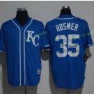 kansas city royals #35 eric hosmer Blue Jersey 2017 Baseball Jerseys Embroidered On