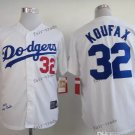 los angeles dodgers #32 sandy koufax 2015 Baseball White Jerseys Authentic Stitched