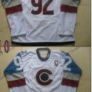 2016 Stadium Series Colorado Avalanche 92 Landeskog White Ice Winter Jersey Authentic Stitched