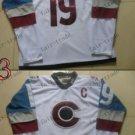 2016 Stadium Series Colorado Avalanche #19 Joe Sakic White Ice Winter Jersey Authentic Stitched