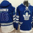 Toronto Maple Leafs hoodie 16 Mitch Marner Blue 100th 2017 Centennial Classic Jersey