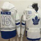 Toronto Maple Leafs hoodie 16 Mitch Marner White Blue 100th 2017 Centennial Classic Jersey